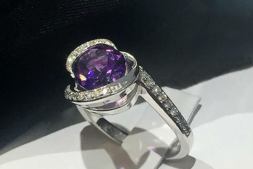 An Amethyst Ring For A Lifetime Of Memories